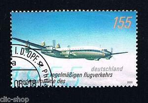 GERMANIA UN FRANCOBOLLO AEREO 2005 timbrato
