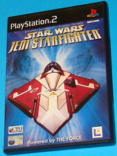 Star Wars Jedi Starfighter - Sony Playstation 2 PS2 - PAL