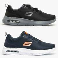 Skechers DYNA-AIR Mens Mesh Cooling Memory Foam Lace Up Jogging Trainers