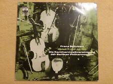Schubert - Oktett F-dur - Kammermusikvereinigung Berlin - ELECTROLA (0418)
