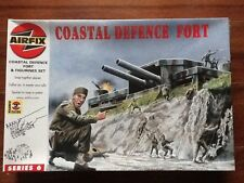 AIRFIX 1/76 WW II COASTAL DEFENCE FORT W/  88 FIGURES KIT # 06706 FACTORY SEALED