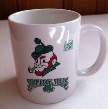 Irish Inn Shamrock Texas Coffee Mug Leprechaun and Shamrocks