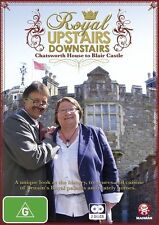Royal Upstairs Downstairs - Chatsworth House To Blair Castle (DVD, 2011, 2-Disc)