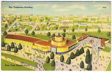 1939 New York World's Fair Cosmetics Building Postcard