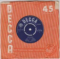 "JET HARRIS & TONY MEEHAN -  Applejack - Original  1963 UK Decca 7""  vinyl single"