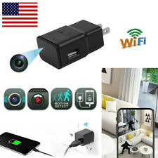 USB Wall Charger Plug adapter 1080P Wifi Hidden Camera Video Recorder Cam DVR US