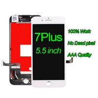 "White For Apple iPhone 7 Plus 5.5""LCD Display Touch Screen Digitizer Replacement"