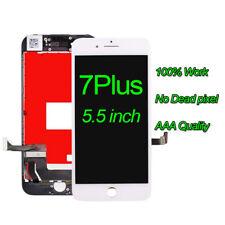 "Blanco Para Apple iPhone 7 Plus 5.5""LCD Pantalla Táctil Pantalla Digitalizador Repuesto"