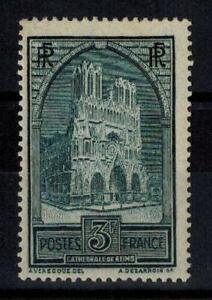 "(b18) timbre France n° 259 neuf* année 1929 ""MH"""