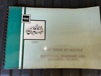1991 GMC Light Truck S T Models Electrical Diagrams And Diagnosis Manual