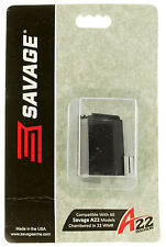 Savage 47205 Factory Mag for A22 22 WMR 10 rd Blk Finish