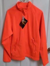 4101f206493d7 GAMEHIDE Safety Hunt Camp Full Zip Hunting Fleece Jacket Size Medium