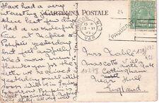 AUSTRALIE - TOULON - VAR - PAQUEBOT - 13-04-1925 - CARTE POSTALE DU VESUVE.
