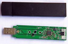 USB3.0 to M.2 NGFF SSD Mobile  hard disk box External Enclosure Storage Case