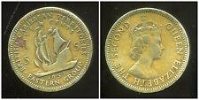 BRITISH  CARAIBES  5 cents 1955