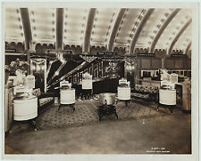 Orig Photo 1920s Gainaday Electric Co - Washing Machine Display - appliance