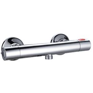 Horizontal Thermostatic Shower Mixer Valve For Static Caravan
