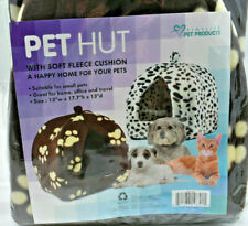 NEW Finelife Pet Products Pet Hut Small Pets Animal Paw Print Cat Dog Puppy
