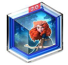 Disney Infinity 2.0 Marvel Super Heroes Toy Box Merida Brave Forest Siege Disc