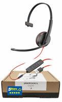 Plantronics Blackwire C3215 USB-A Headset (209746-101, 209746-22) Brand New