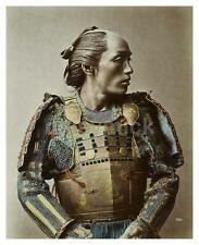 Samurai Warrior Japan 1875 Classic Reprint Photograph 6x5 Inch