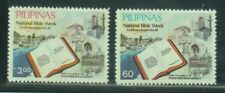 Philippine Stamps 1985 National Bible Week complete set MNH