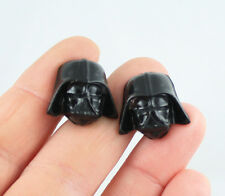 Star Wars Darth Vader Cuff Links  - Polymer Clay - Dark Helmet - Force Awakens