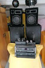 Verkaufe meine DJ Musikanlage aus gesundheitlichen und Altersgründen komplett...