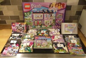 LEGO Friends 66526 Emma's House 3 in 1 Super Pack 100% complete instructions box