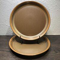 "MIKASA POTTER'S ART Rusticana 2 Dinner Plates 10 5/8"" By Ben Seibel Design PP005"