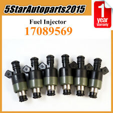 6 x Fuel Injector 17089569 for Chevrolet Buick Pontiac Oldsmobile 2.8L 3.1L 3.3L