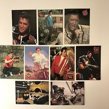 PROMO CARDS: ELVIS PRESLEY COLLECTION (River Group/1992) LOT OF 9 DIFFERENT