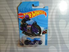 2018 HOT WHEELS ''HW MOTO'' #283 = STREET STEALTH = BLUE & PURPLE ,  int
