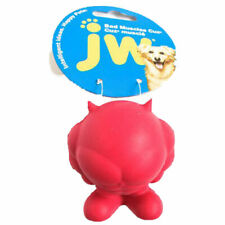 JW Bad Muscles Cuz Squeaky Rubber Play Dog Toy - With Squeaker ! Large