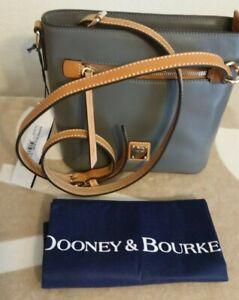Dooney & Bourke  Small Zip Crossbody Slate NWT $228