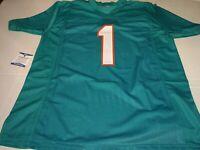 Tua Tagovailoa Signed Miami Dolphins Custom Jersey w/Beckett COA
