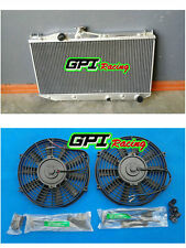 Aluminum Radiator &FAN for TOYOTA Camry SV20 SV21 SV22 1.8L 2.0L 1987-1992 AT/MT