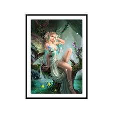 Angel DIY 5D Diamond Painting Embroidery Fairy Cross Stitch Kit Elf Home Decor