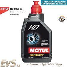 MOTUL HD 80W90 Olio Minerale Cambio Trasmissione Differenziale Auto Moto 1 Litro
