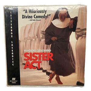 Sister Act - Whoppi Goldberg Lettbox Edition Laser Disc NTSC