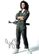 Sigourney WEAVER SIGNED Autograph 10x7 Photo AFTAL COA Ghostbusters Alien