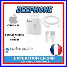 Câble USB Apple Original 1M 5/5C/5S/6/6+/6s/7/8/X/XS/XR/11/11 PRO/11 PRO MAX