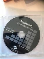 Apple logic producing rock dvds video dvd help tutorial training lesson review