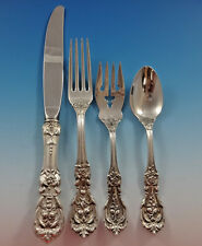 Francis I Reed & Barton Sterling Silver Flatware Service For 4 Set 16 Pieces