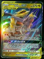 ULTRA RARE Garchomp & Giratina GX Tag Team Pokemon Unified Mind 146/236 Holo LP
