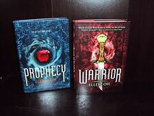Ellen Oh Lot 2~Prophecy + Warrior Hardcover First Edition 1st/1st Warrior SIGNED