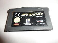Nintendo Game Boy Advance Star Wars episodio 2-ataque del klonkrieger