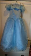 Disney Store Cinderella Dress Age 7-8