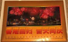 1997 Hong Kong Return to China Gold Deng Xiaoping SC 2775 Folder 50 Yuan