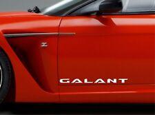 Door Sticker Fits Mitsubishi Galant Side Vinyl Decals Premium Qaulity RT50